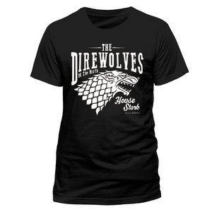 Direwolves (T-Shirt,Schwarz,Größe XL)