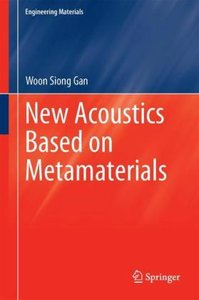 New Acoustics Based on Metamaterials