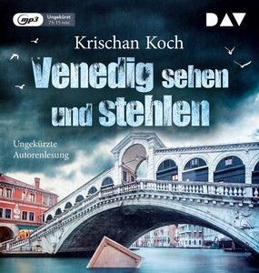 Venedig sehen und stehlen, 1 Audio-CD, MP3 Format