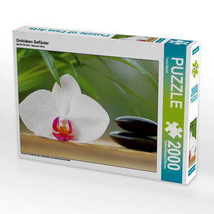 Orchideen Geflüster 2000 Teile Puzzle quer