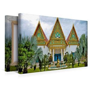 Premium Textil-Leinwand 45 cm x 30 cm quer Tempelanlage, Hua Hin