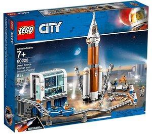 LEGO® City 60228 - Weltraumrakete mit Kontrollzentrum, Bausatz