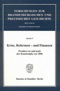 Krise, Reformen - und Finanzen.