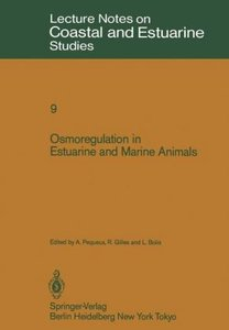 Osmoregulation in Estuarine and Marine Animals
