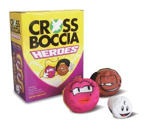 MTS 970827 - Crossboccia Double Pack Heroes, Blond+Muffin, Set f