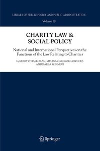 Charity Law & Social Policy