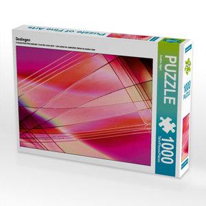 Gediegen 1000 Teile Puzzle quer