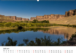 Nationalparks in Utah (Wandkalender 2019 DIN A2 quer)