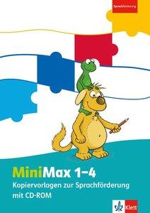 MiniMax. Kopiervorlagen Sprachförderung 1.-4. Schuljahr