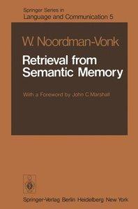 Retrieval from Semantic Memory