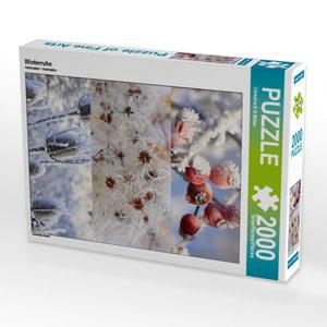 CALVENDO Puzzle Winterruhe 2000 Teile Lege-Größe 67 x 90 cm Foto