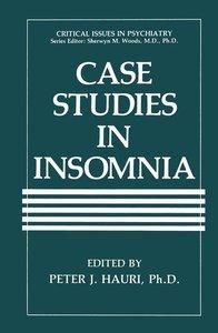 Case Studies in Insomnia