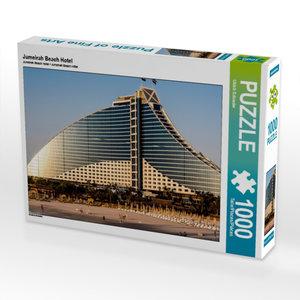 Jumeirah Beach Hotel 1000 Teile Puzzle quer