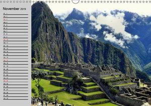 Perú. Impressionen (Wandkalender 2019 DIN A3 quer)