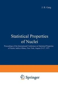 Statistical Properties of Nuclei