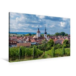Premium Textil-Leinwand 90 cm x 60 cm quer Prichsenstadt