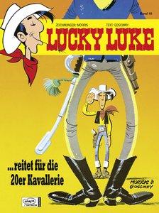 Lucky Luke 19. ... reitet für die 20er Kavallerie