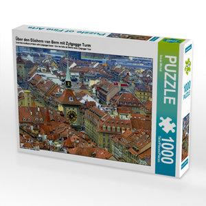 Über den Dächern von Bern mit Zytgogge Turm 1000 Teile Puzzle qu