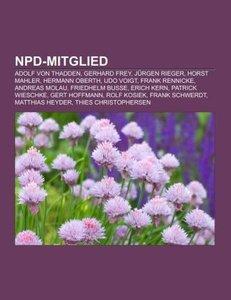 NPD-Mitglied