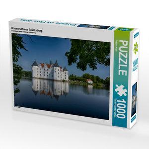 Wasserschloss Glücksburg 1000 Teile Puzzle quer
