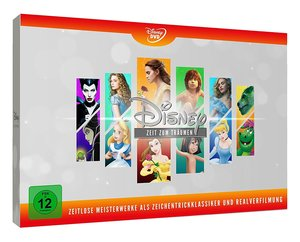 Disneys zeitlose Meisterwerke (Animation & Live Action), 12 DVDs