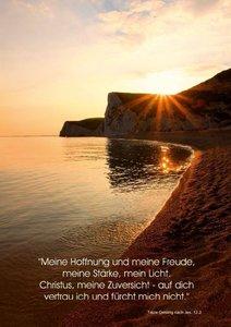 Christliche Natur-Poster