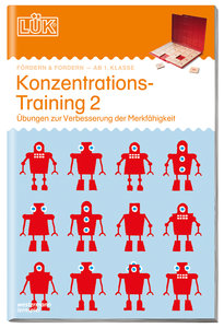 LÜK. Konzentrationstraining 2 - ab 1. Klasse
