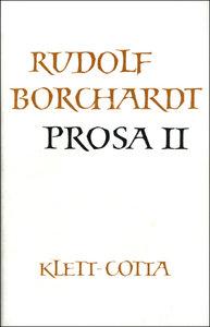 Gesammelte Werke in Einzelbänden / Prosa II