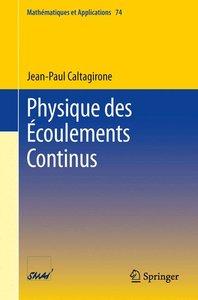 Physique des Écoulements Continus