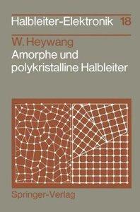 Amorphe und polykristalline Halbleiter