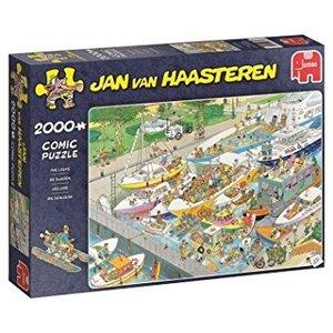 Jumbo 19068 - Die Schleuse, Jan v. Haasteren, Comicpuzzle, Puzzl