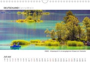 Weißblaue Impressionen vom EIBSEE Panoramabilder (Wandkalender 2