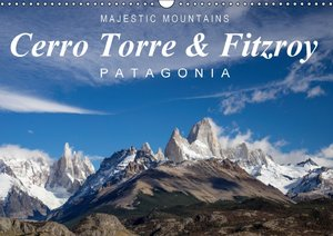 Majestic Mountains Cerro Torre & Fitzroy Patagonia / UK-Version