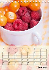 Beerendesserts - frische Verführung (Tischkalender 2019 DIN A5 h