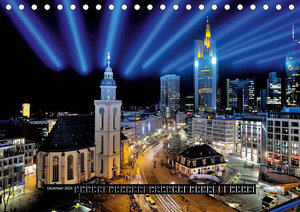 Luminale Festival des Lichts (Tischkalender 2020 DIN A5 quer)