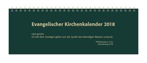Evangelischer Kirchenkalender 2018 Tischkalender