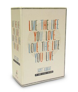 Live the Life You Love Postcards