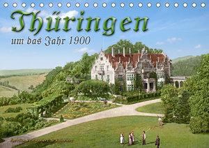 Thüringen um das Jahr 1900 ? Fotos neu restauriert und detailcol