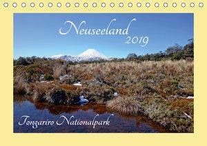 Neuseeland - Tongariro Nationalpark (Tischkalender 2019 DIN A5 q
