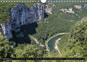 Ardèche, Grand Canyon Europas (Wandkalender 2019 DIN A4 quer)