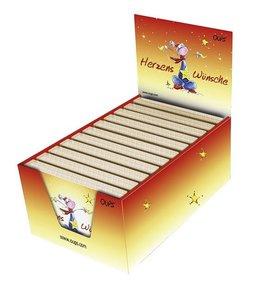 Oups Kärtchenbox im Verkaufs-Display