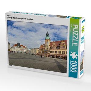 CALVENDO Puzzle Leipzig - Spaziergang durch Epochen 1000 Teile L