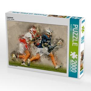 Lacrosse 2000 Teile Puzzle quer