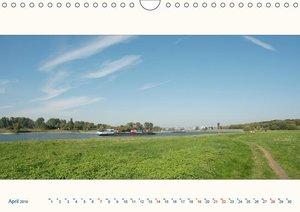 Am Rhein - Urdenbacher Kämpe (Wandkalender 2019 DIN A4 quer)