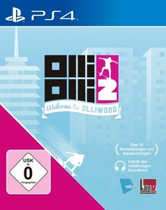 OlliOlli2: Welcome To Olliwood (PlayStation PS4)