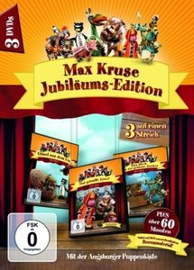 Max Kruse Jubiläums-Edition, 3 DVDs