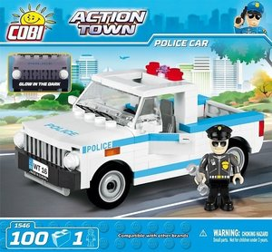 Cobi 1546 - Action Town, Police Car, Polizeiauto, Konstruktionss
