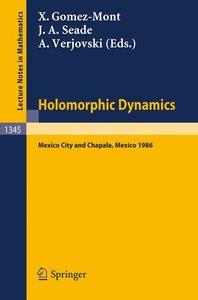 Holomorphic Dynamics