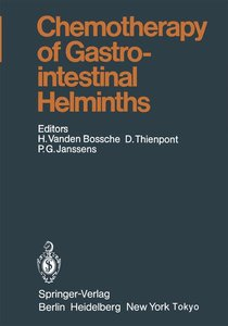 Chemotherapy of Gastrointestinal Helminths