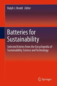 Batteries for Sustainability